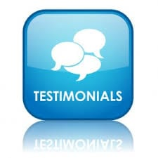 marketing customer testimonials