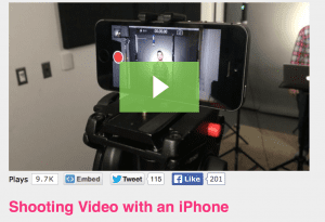 How to embed a video on a blog