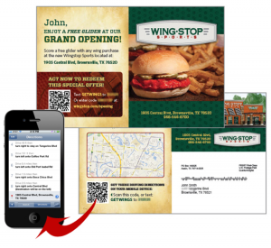 Mobile Marketing tips - Wing Shop